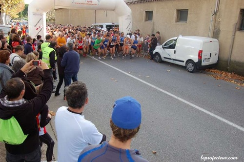 La bacchanale à Vaison-la-Romaine 11.450 km dimanche 13 novembre 2011