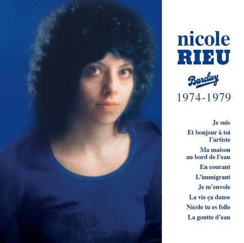 RIEU, Nicole - En Courant (1976)  (Chansons françaises)