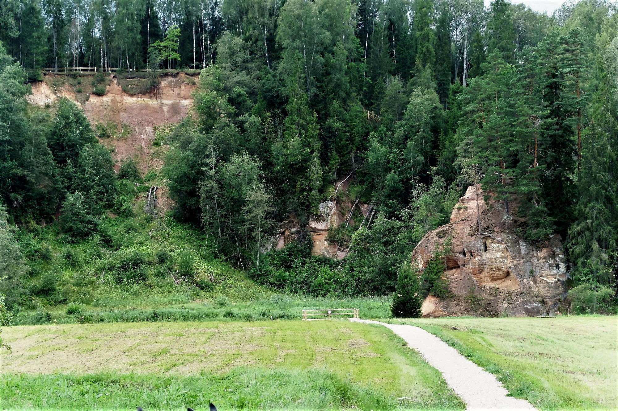 Parc National de la GAUJA  (Lt) Zvartes iezis