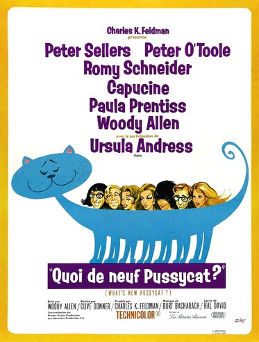 QUOI DE NEUF PUSSYCAT BOX OFFICE FRANCE 1966