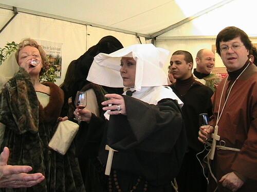 fête médiévale dans le Gers.