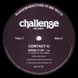 Contact U - Break It Up