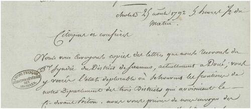 1792, vue depuis le Maine-et-Loire (10° partie)....