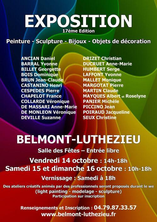 Exposition à Belmont-Luthézieu