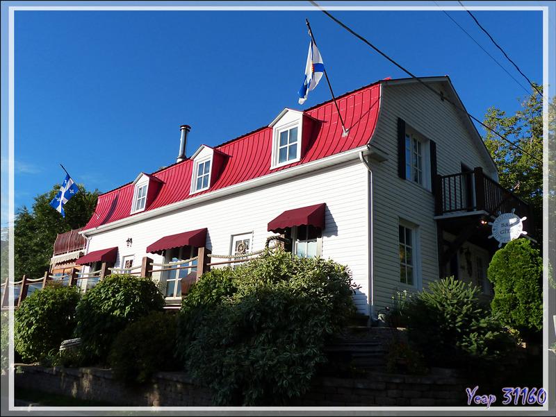 Grandes-Piles : un village avec de belles maisons anciennes - Mauricie - Québec - Canada