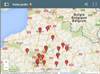 Afficher une carte Google maps. Eklablog