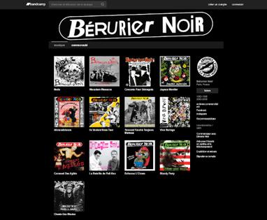 Bérurier Noir - La discographie du groupe est désormais sur Bandcamp