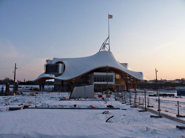 Le Centre Pompidou Metz chantier janvier 9 10 01 2010