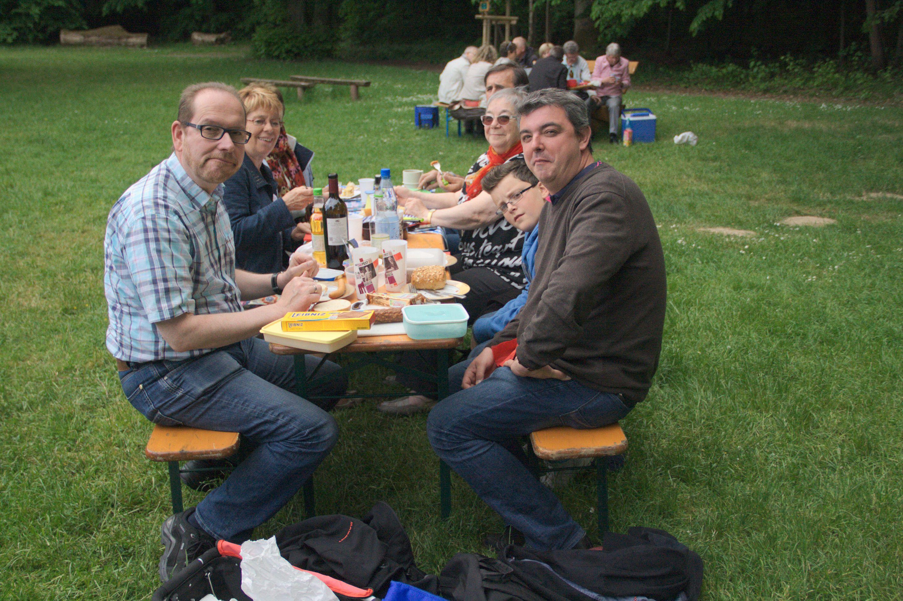 24 mai - Pique-nique,  Mühlhausen en Thuringe