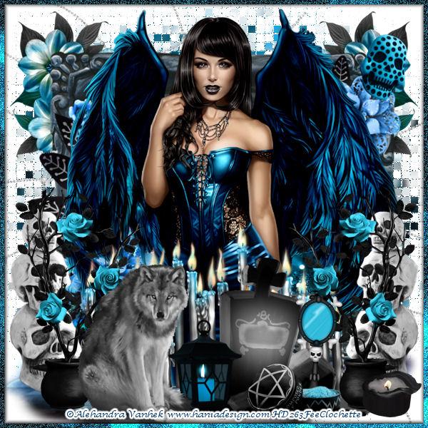 Sweet dark angel