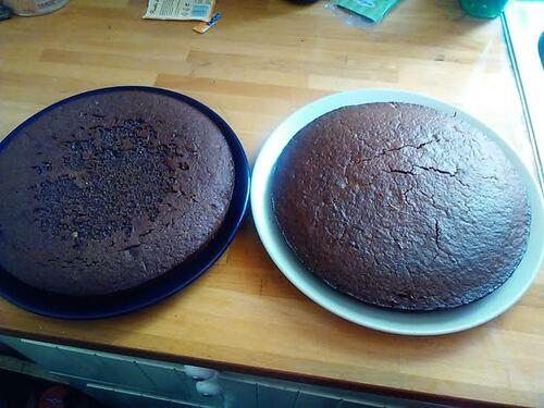Gâteau complètement décadent au chocolat...pour mon anniversaire {Vegan}