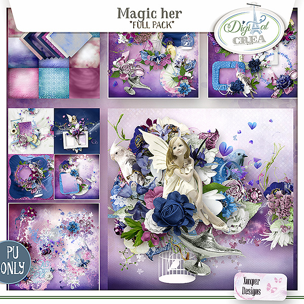 Magic Her Full pack de Xuxper Designs