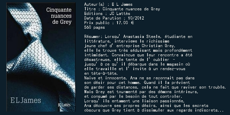 50 nuances de Grey (trilogie)