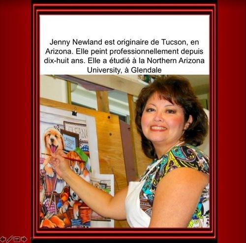 Jenny Newland peintre-AKIA