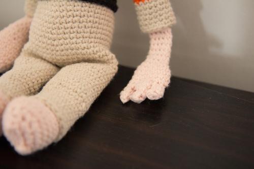 Mylène - Crochet : Doudou astronaute