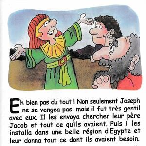 Joseph sauve sa famille