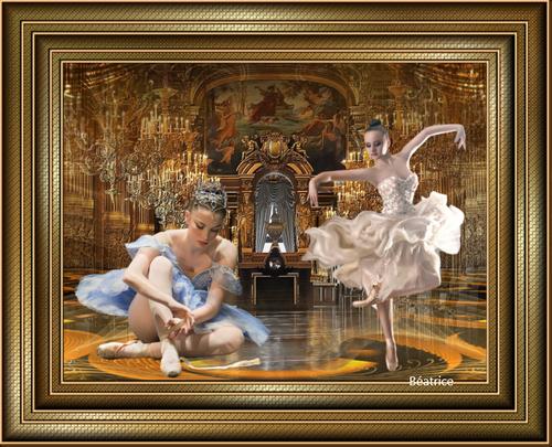 défi Kalyona  ''danseuse étoile''