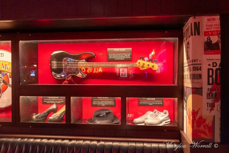 Irlande : Hard Rock Café de Dublin