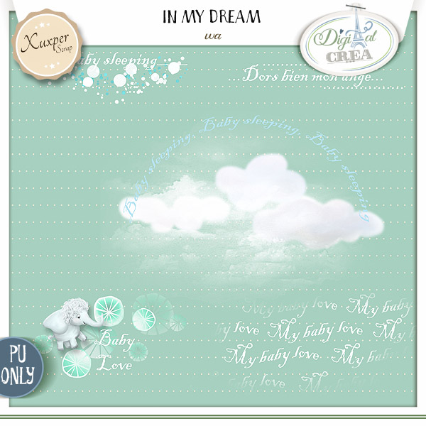 IN MY DREAM by Xuxper Designs
