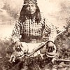 Bakeitzogie (The Yellow Coyote), called Dutchy. Chiricahua Apache.ca. 1880