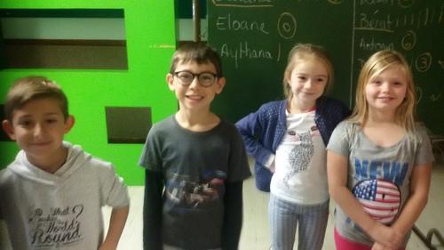 élections des délégué de la classe de CE2