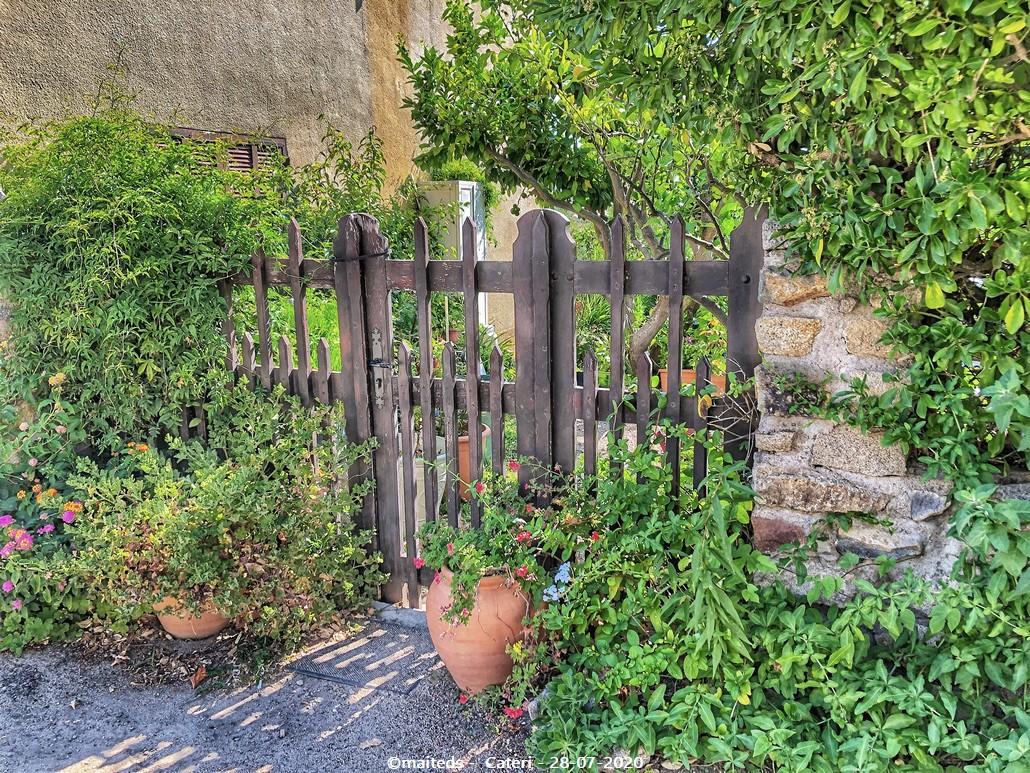 Dans les rues de Cateri - Corse