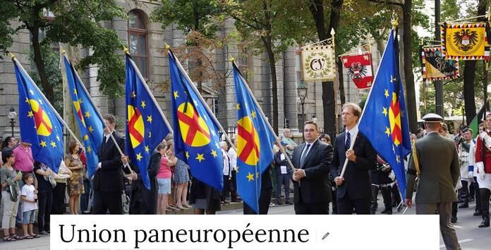 Derrière la chute du mur de Berlin,l'Union Paneuropéenne