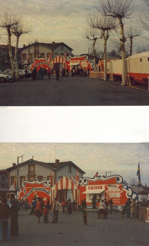 le Nouveau Cirque de Jean Richard en 1977 ( direction Lucien et Alexis Gruss Sr)