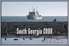 Montage audiovisuel sur la Géorgie du Sud de 9 minutes 41