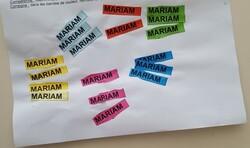 Travailler la reconnaissance du prénom
