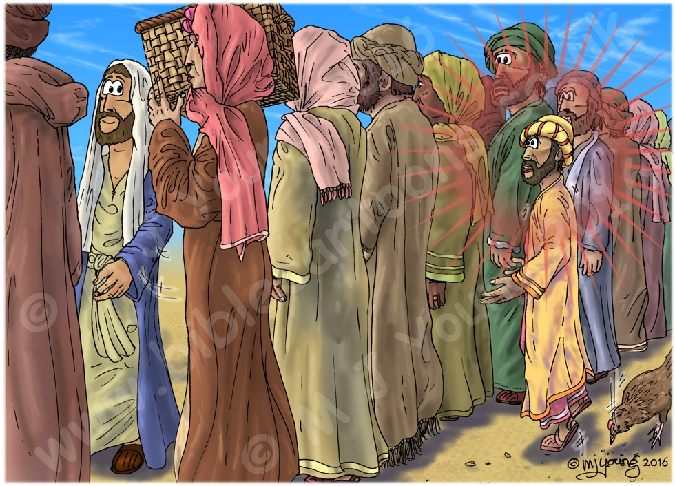 Luke 19 - Zacchaeus the tax collector - Scene 02 - Too short (Version 01) 980x706px col
