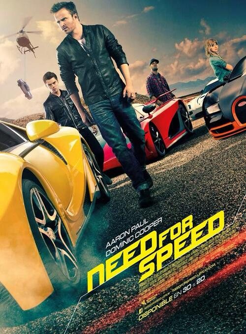 "Bonsoir a l'honneur : "" Need for speed """