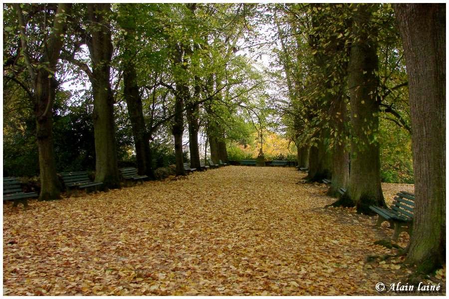 Jardin du Thabor - Vues automnales