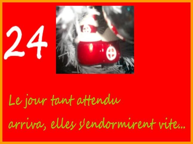 24 ème jour et la nuit du Père Noël