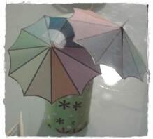 DIY - petits parasols déco