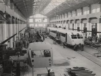 Construction de l'autorail Bugatti