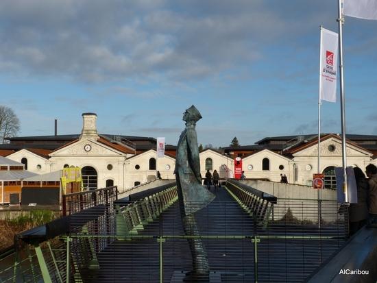 La passerelle entre cité et musée BD