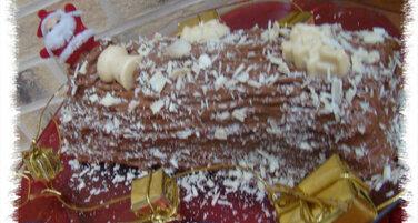 BUCHE CHOCOLAT NOIR