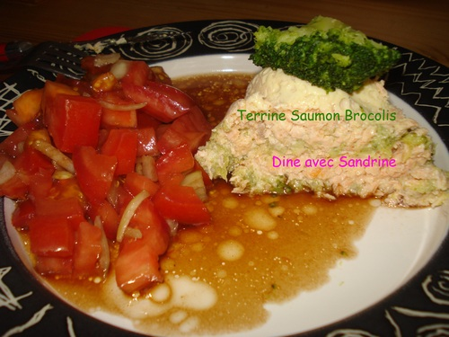 Une Terrine Saumon Brocolis