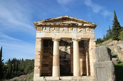 Delphes, le sanctuaire d'Apollon (2)