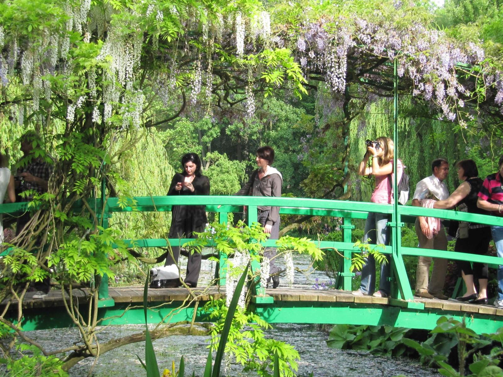Dites moi a little bit of paradise - Livre le jardin de monet ...