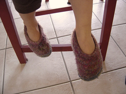Coucou du haïku : Dans ses petits souliers