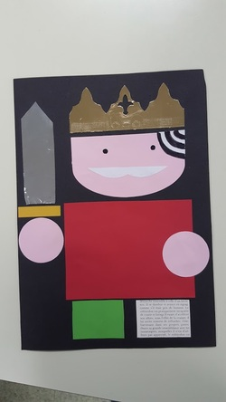 Le tout petit roi, reconstitution...