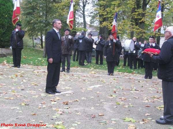 La cérémonie du 11 novembre 2016 à Châtillon sur Seine, vue par René Drappier
