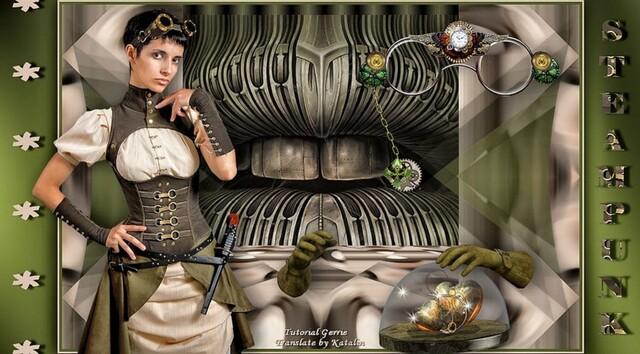 ST0006 - Tube femme steampunk