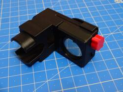 Polar illuminator with sliding cover + ajustable led, for Star-Adventurer with L-bracket in place