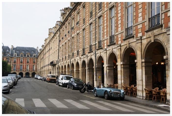 Place des Vosges. Paris