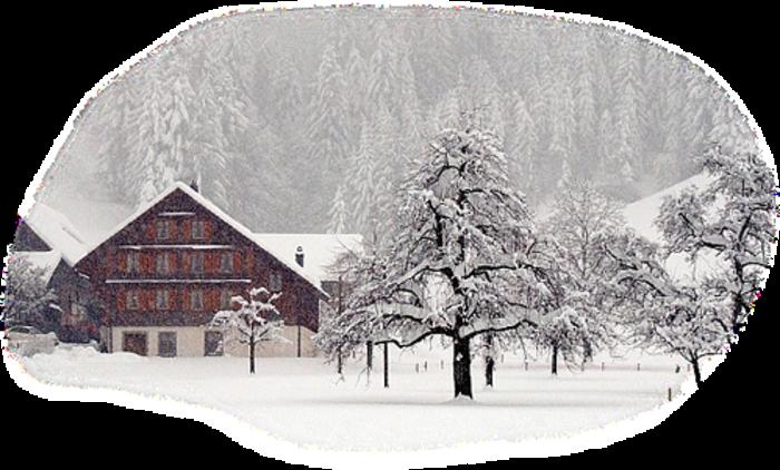 Paysage hivernal / 18