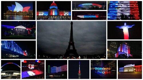 Terrorist attacks in Paris on November 13th