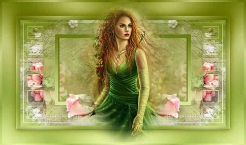 cabeçalho verde